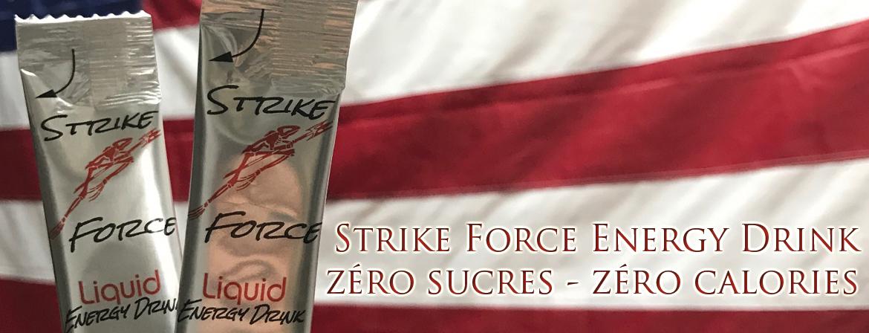 Strike Force Energy Drink