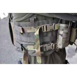 Chest rig mounting kit for plate carriers