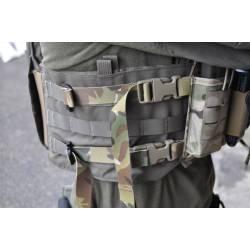 Kit de montage chest rig pour porte-plaques