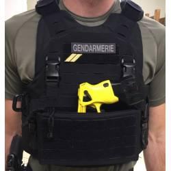 Taser / smoke grenade / carabine mag insert for VDK chest rig