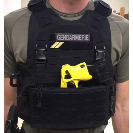 Taser / smoke grenade insert for VDK chest rig