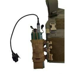 Side radio pouch for Platecat/Vodcat