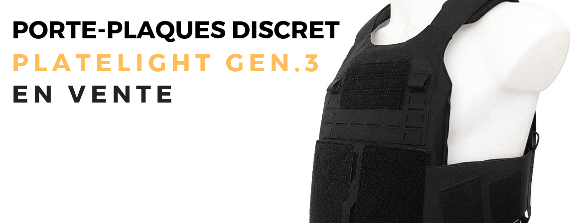 The new covert plate carrier from Tiger Tailor
