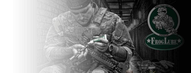 Le meilleur lubrifiant pour armes au monde est disponible chez Tiger Tailor.